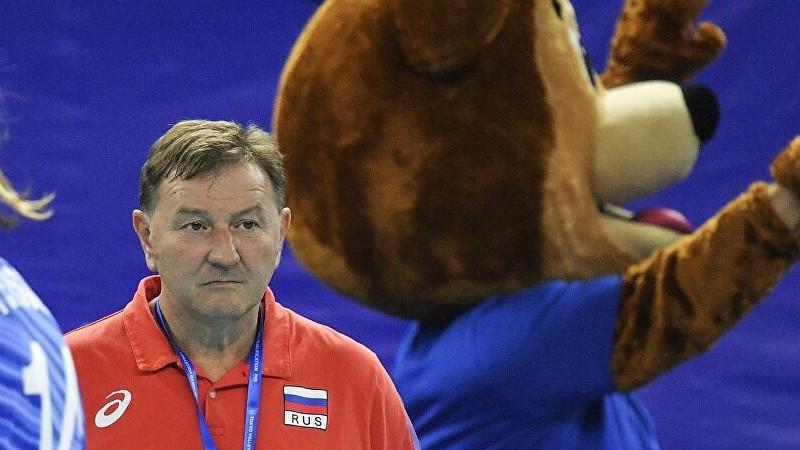 Krievijas izlases trenerim pārmet aizvainojošu priecāšanos