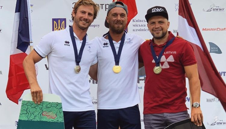 Eiropas čempionātā veikbordā aiz laivas bronzas medaļu izcīna Liņavskis