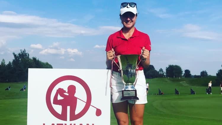 "Forstmane un soms Simbergs uzvar ""Latvian Open"" golfā"