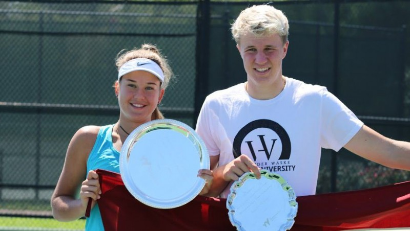 """Bartone un Ozoliņš """"US Open"""" iesildās ar uzvaru nozīmīgā turnīrā ASV"""