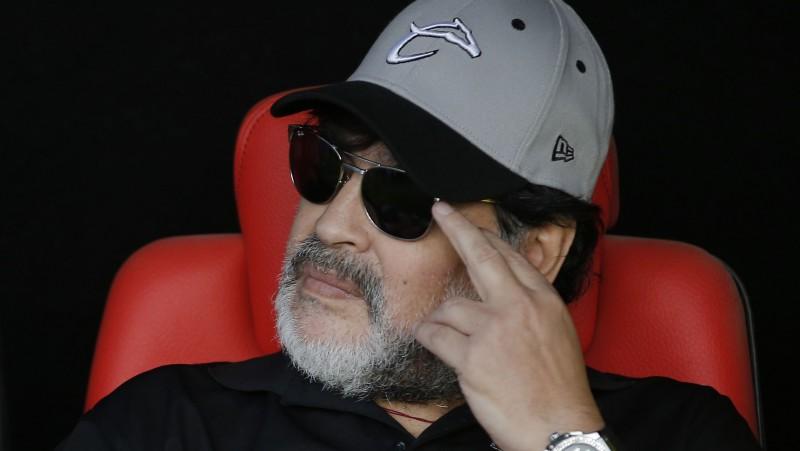 Maradona stāsies pie Argentīnas pēdējās vietas īpašnieces stūres