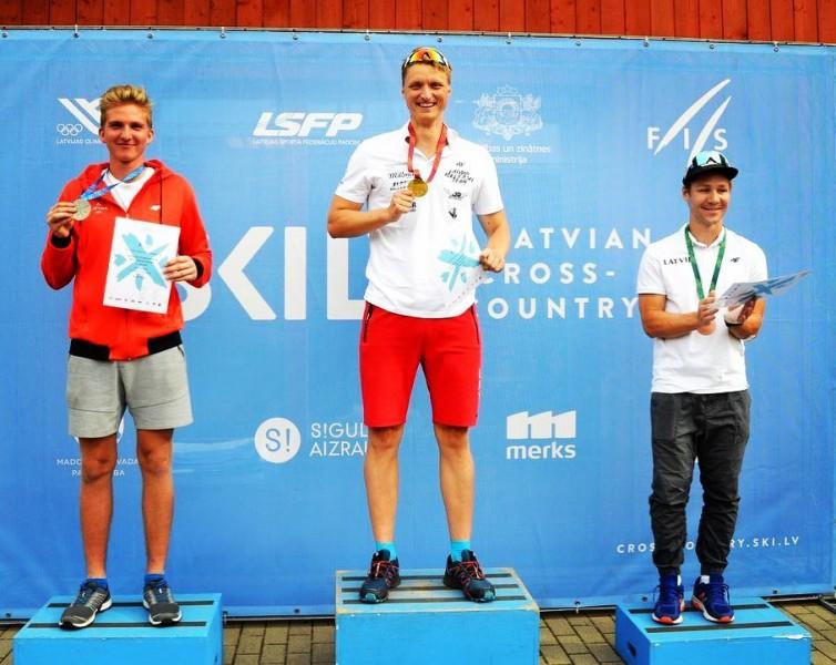 Siguldā aizvadīts Latvijas čempionāts rollerslēpošanas sprintā