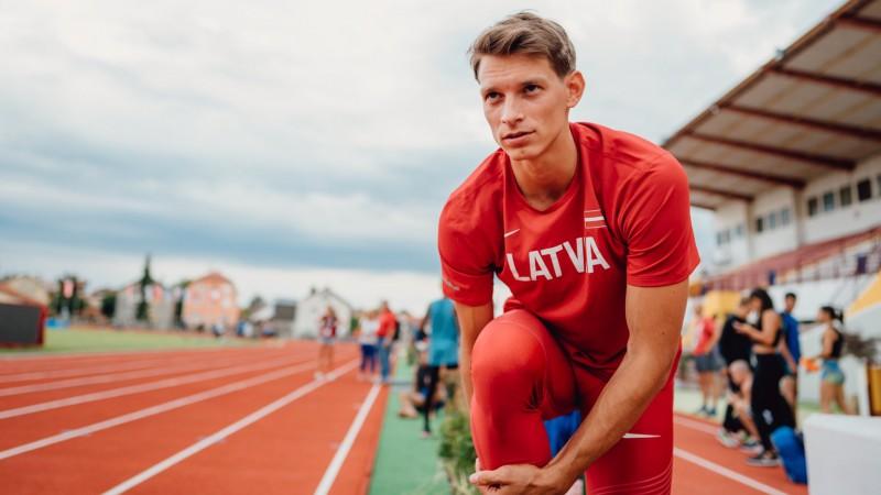 Šogad Eiropas telpu čempionātā startējušais Sietiņš pieķerts dopinga lietošanā