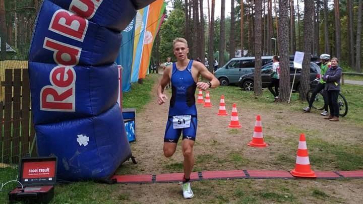 Leitāne un Proščinko kļūst par Latvijas čempioniem duatlonā