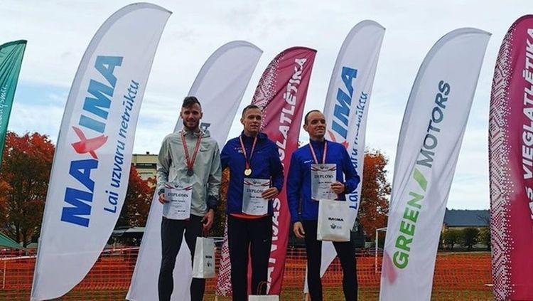 Latvijas čempionātā krosā uzvar Hartmanis un Grosberga