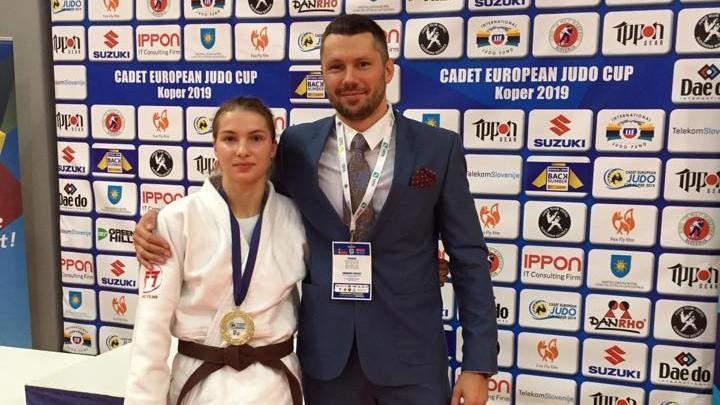 Džudiste Skoirjanska uzvar Eiropas kadetu kausa posmā