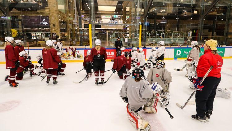 Aizvadīta pirmā Latvijas U20 sieviešu izlases treniņnometne
