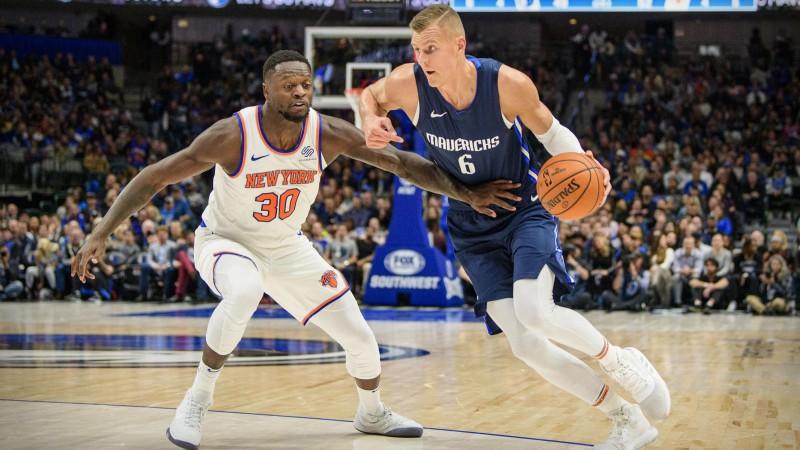 """Porziņģim iespaidīgs sniegums pret """"Knicks"""" - 28+9 un pieci bloki"""