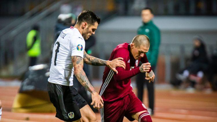 Teksta tiešraide: Latvija - Austrija 1:0 (spēle galā)