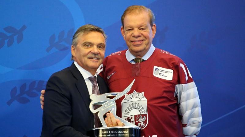 Lipmans iesaka Rīgā un Minskā ieplānoto PČ pārcelt uz Šveici