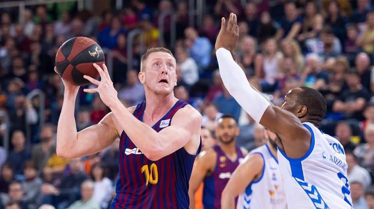 """Šmita pārstāvētajai """"Barcelona"""" divvadība ar """"Real"""", Žagaram septītā uzvara pēc kārtas"""