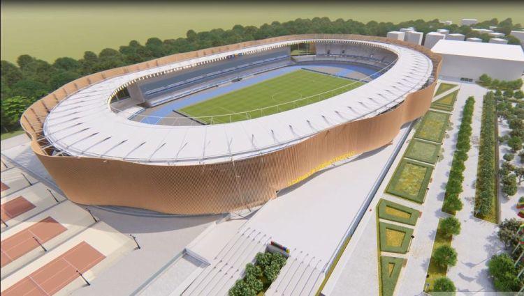 Kauņā lielas problēmas ar 35 miljonus vērto futbola stadiona projektu