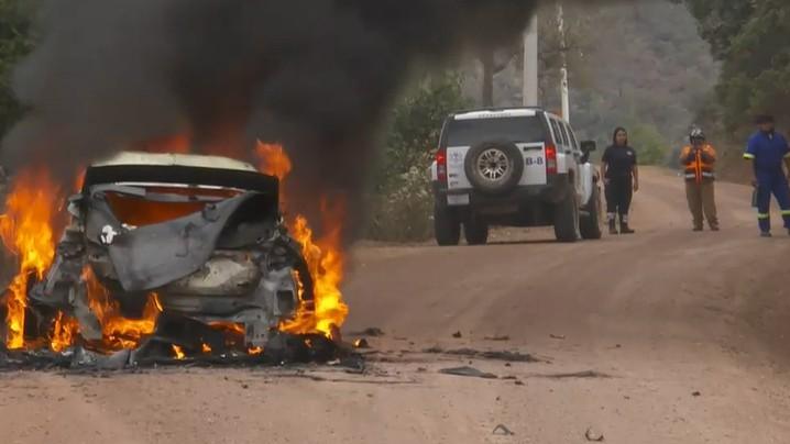 """""""M-Sport"""": Lapi automašīnas degšanas cēloni, visticamāk, neuzzināsim (+video)"""