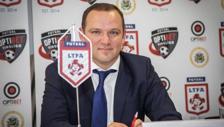 Ļašenko LFF prezidenta vēlēšanām piesakās ar vairāk nekā 100 biedru parakstiem