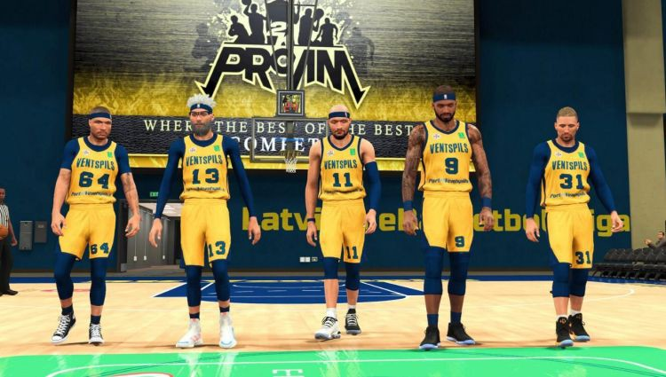 Latvijas e-Basketbola līga sākas ar