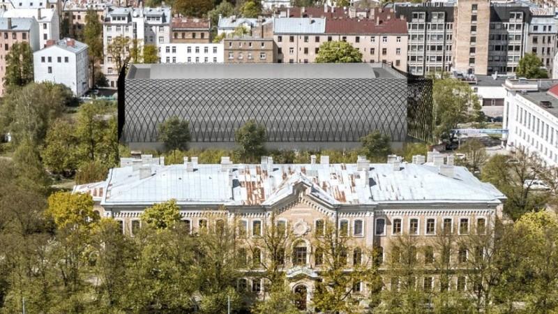 Panākts konceptuāls atbalsts moderna basketbola centra celtniecībai Rīgā