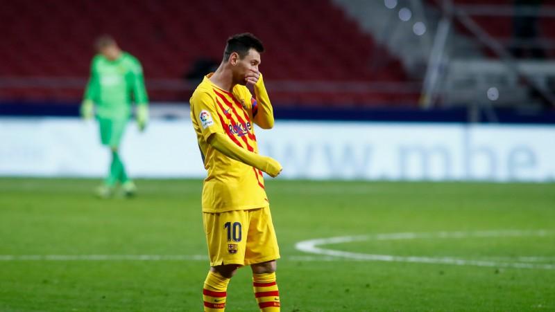 """""""Barcelona"""" Čempionu līgas spēlē Ukrainā iztiks bez Mesi un de Jonga"""