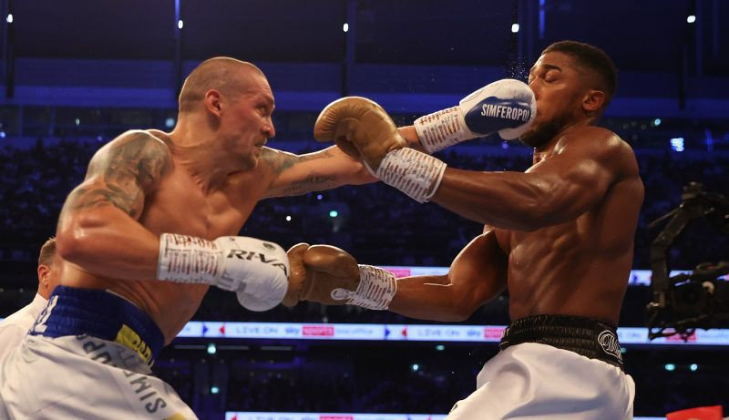 Usik beat Joshua in a perfect fight to become world heavyweight champion – Boxing – Sportacentrs.com