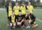 Foto: Skolēnu sporta spēļu uzvarētāji futbolā
