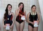 Foto: Ogres novada skolēnu peldēšanas sacensību uzvarētāji