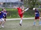 Foto: Startējis Ogres novada čempionāts futbolā 7:7