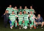 Foto: Ogres futbola čempionātā uzvar OCSK