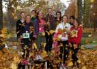 Foto: Skolēni sacenšas rudens krosa stafetēs