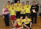 Foto: Skolēnu spartakiādes frisbija turnīrā uzvar ogrēnietes un ventspilnieki