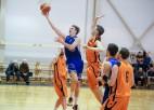"""Foto: """"BS A"""" revanšējas """"iSK Dīvas"""" basketbolistiem"""