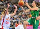Latvijas dāmu izlase čempionātu noslēgs ar maču pret Lietuvu