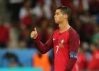 """Ronaldu asi kritizē Islandi: """"Viņi priecājās tā, it kā būtu uzvarējuši čempionātā"""""""