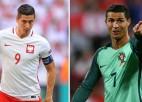 """Polija pret Portugāli – """"Euro 2016"""" pirmais ceturtdaļfināls"""