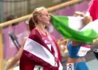 Video: Latiševa-Čudare saņem sudraba medaļu pasaules universiādē