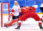 Čehi pieveic Šveici un nodrošina olimpisko ceturtdaļfinālu