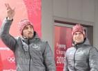 """Olimpiskās čalas: apsveikumi bobslejistiem, premjeru priecē bronza """"Pejončhanā"""""""