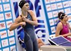 Ņikitina Baltkrievijā labo Latvijas rekordu 50 m tauriņstilā