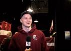 Video: PČ hokejisti un fani tiek eksaminēti dāņu valodas līkločos