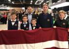 Divi Latvijas snūkeristi sasniedz pasaules U16 čempionāta 1/16 finālu