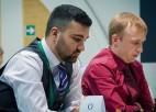 Kovaļenko izcīna uzvaru pirmajā spēlē Pasaules kausā