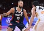 Francijai 20:0 izrāviens un viegla pastaiga pret Jordāniju, Vācijas izredzes sagrautas