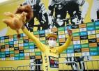 """Slovēņiem lielā diena """"Tour de France"""", Skujiņš apsver cīņu par Kalnu karaļa kreklu"""