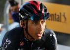 """Čempions Bernals izstājas no """"Tour de France"""" velobrauciena"""