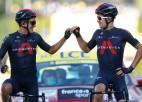 """Neilands uz brīdi atrāvienā, """"Ineos"""" gūst emocionālu """"Tour de France"""" dubultuzvaru"""