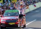 """Neilands un Skujiņš finišē """"Top 50"""", rītdien pēdējā cīņa """"Tour de France"""" kopvērtējumā"""