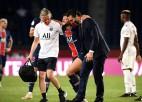 PSG aizsargs Bernats saplēš krustenisko saiti, Sentetjēna noņem 41 gadu ilgu lāstu
