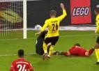 Video: Kimmihs iespaidīgi gūst uzvaras vārtus Vācijas superkausā