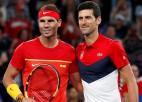 """Kārtējos rekordus gaidot: Džokoviča un Nadala duelis """"French Open"""" finālā"""