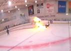 Video: Aizdegas ledus tīrāmā mašīna