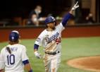"""""""Dodgers"""" Pasaules sēriju sāk ar 8:3"""
