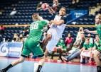 """Lietuvas un Igaunijas handbolisti EČ kvalifikācijā piekāpjas Eiropas """"top"""" izlasēm"""